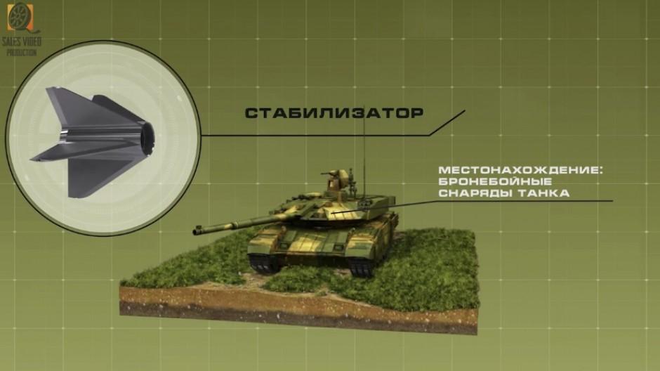 3D модель танка для видеоролика