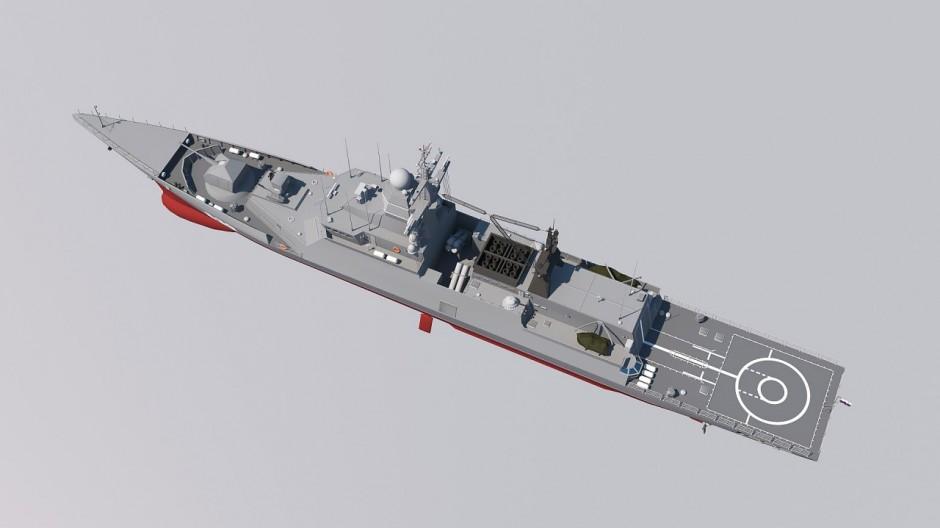 Создание модели корабля для презентационного ролика