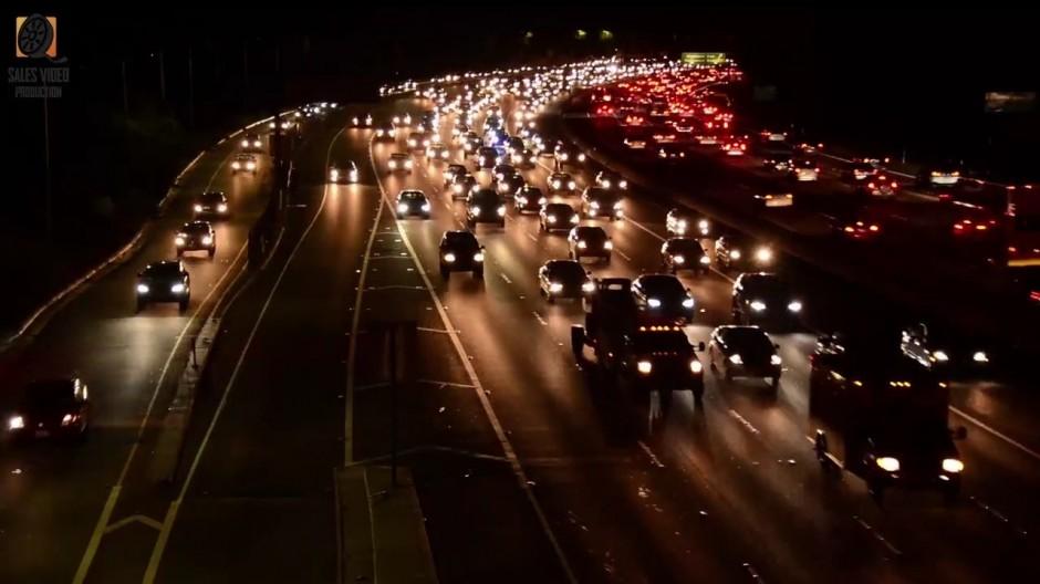 имиджевый видеоролик футажи магистралей 3