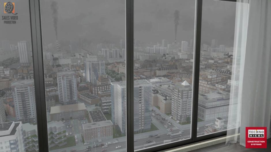 Видеоролик на заказ загрязненный воздух